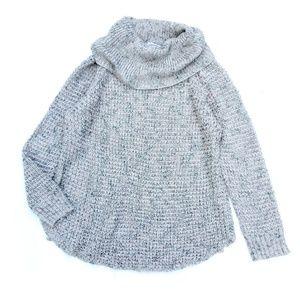 American Rag Gray Cowl Neck Sweater